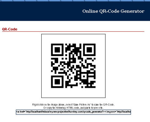 Product picture Turnkey Script: QR-Code Generator
