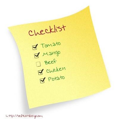 Product picture Unique Turnkey: Checklist Generator Script